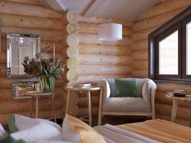 Утепление бревенчатого дома изнутри