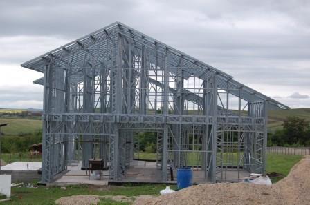 Дом построенный по технологии ЛСТК