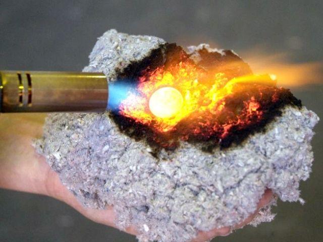 Огнестойкость эковаты