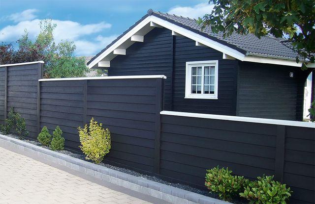 Фасад из скандинавской доски