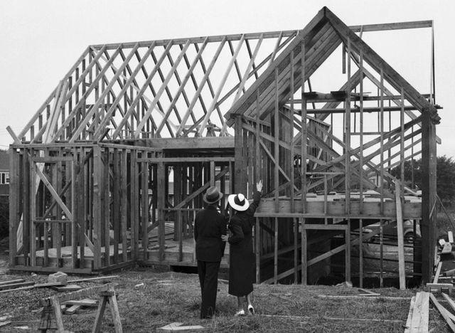 История появления каркасных домов