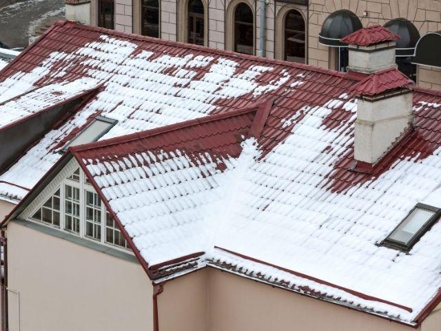 Крыша без наледи